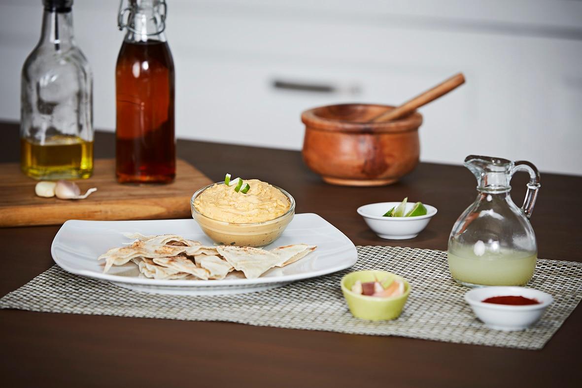 Receita: Hummus