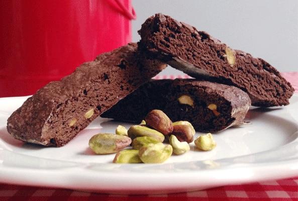 Bay biscuit de chocolate y pistacho