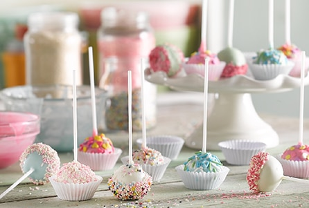 Receta de Cakepop