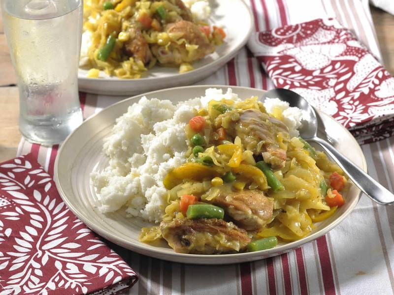 Chicken and Cabbage Stew