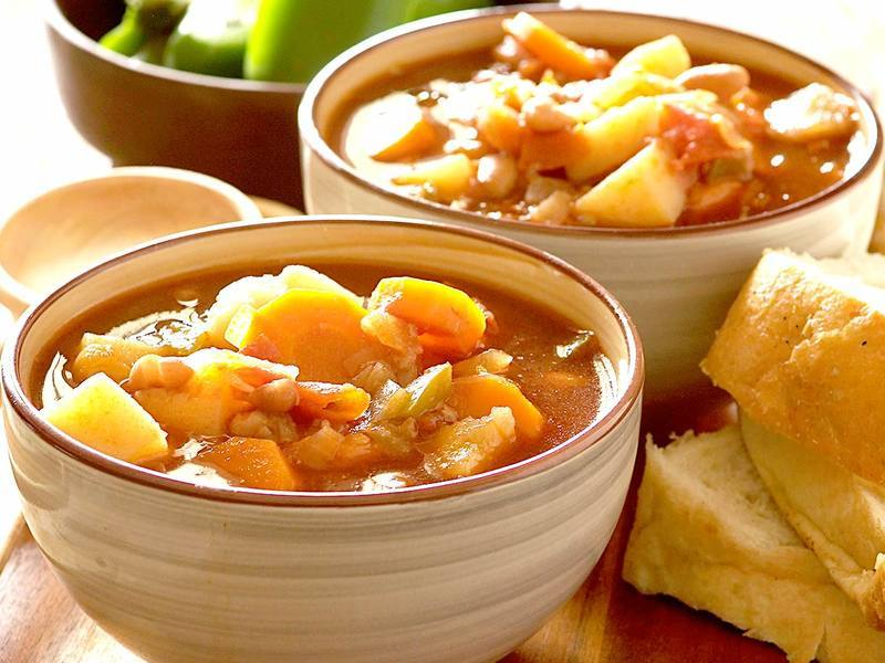 Hearty Vegetable and Bean Stew