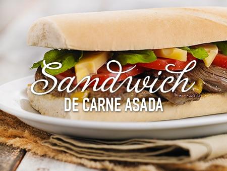 Sandwich de carne asada al estilo Savora