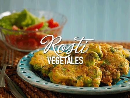 Rosti de vegetales con Savora Original