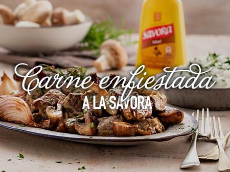 ATS: Carne enfiestada a la Savora