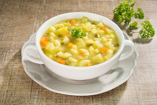 Sopa de Verduras con Coditos