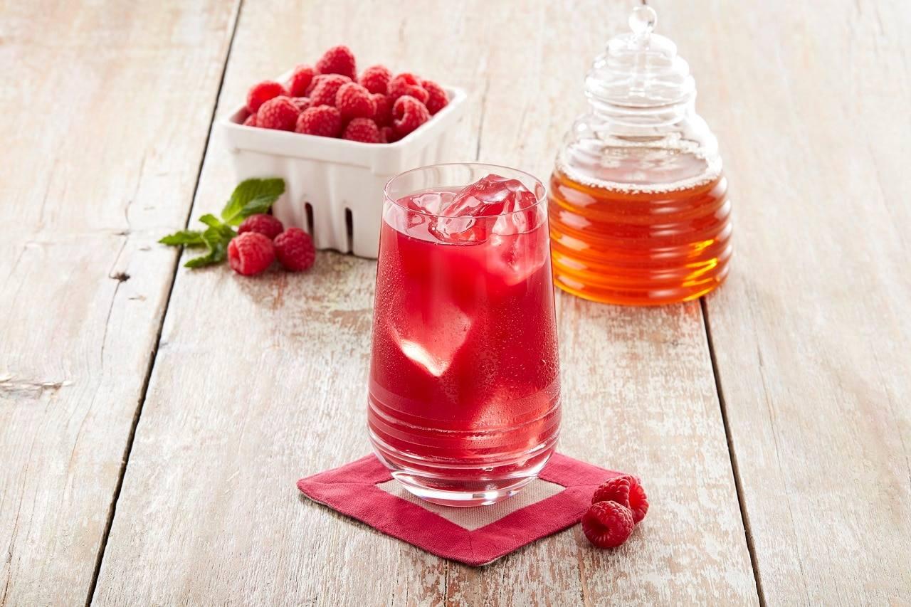 Iced Raspberry Green Tea