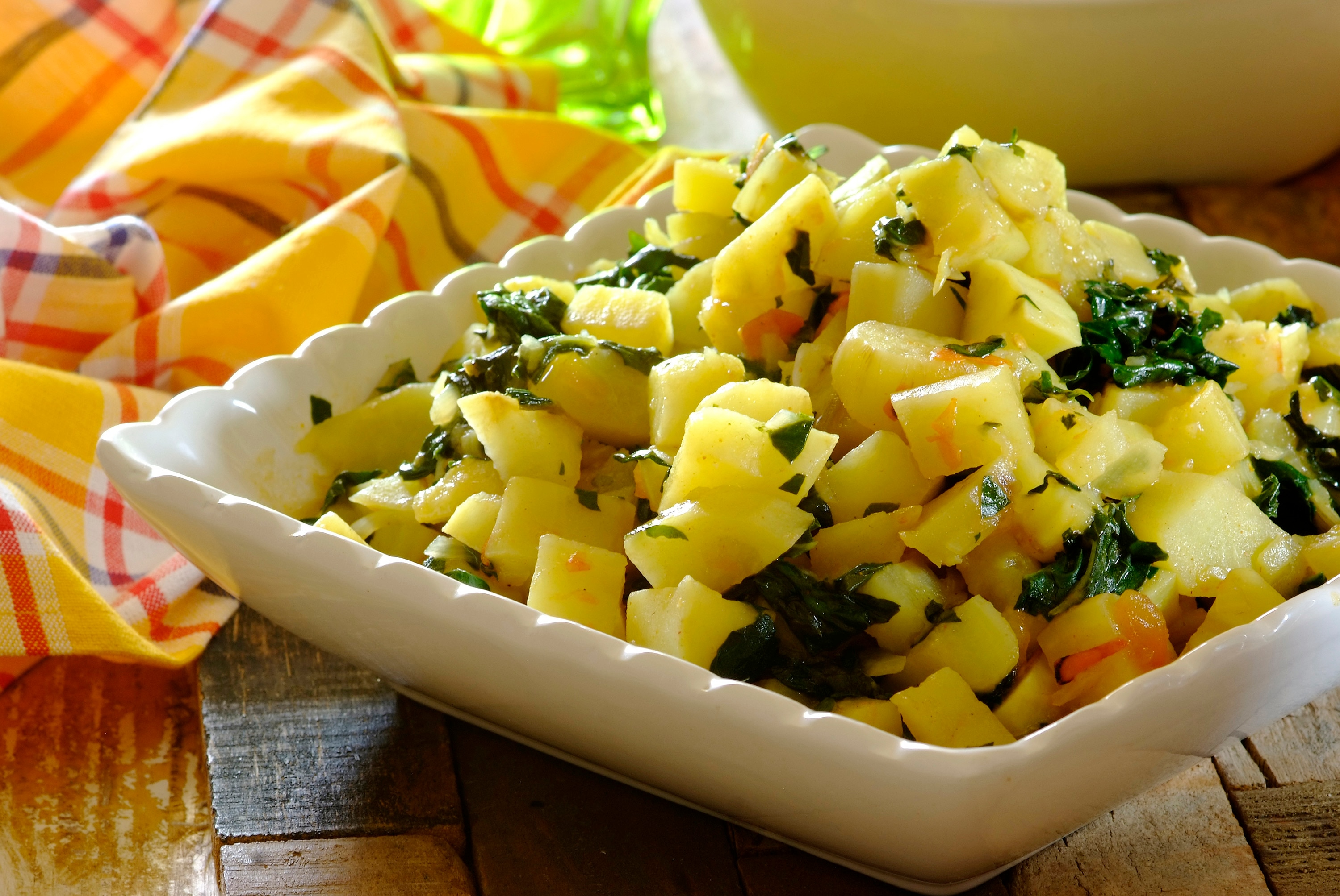 Sweet Potato and Spinach Stew