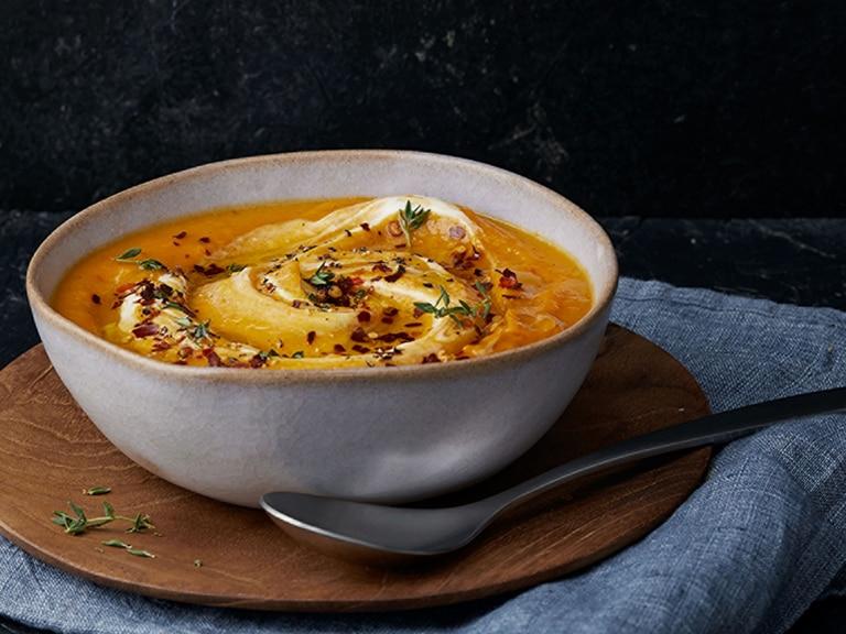 Butternut and Orange Super-Soup
