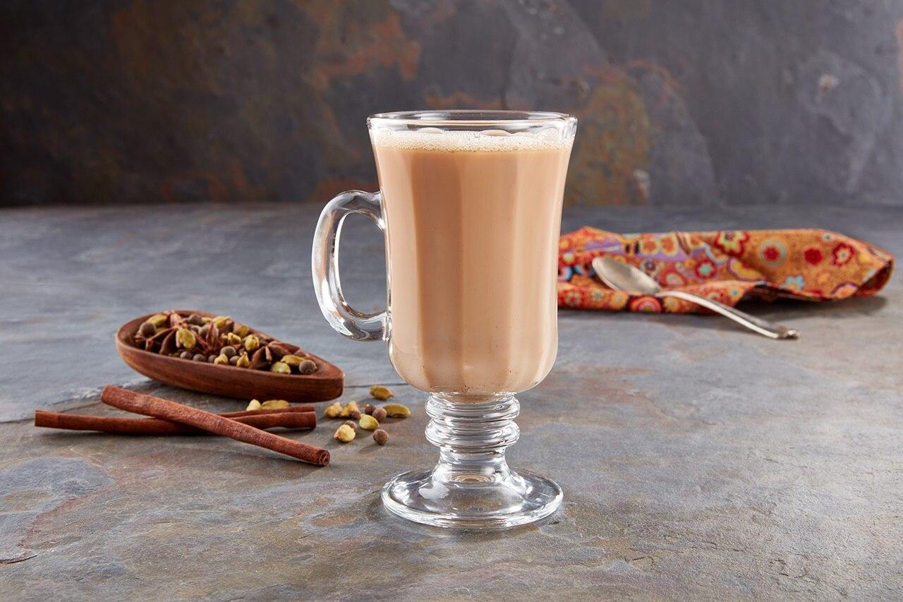 Té chai de la India con especias