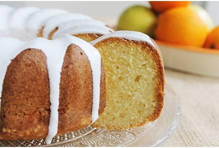 Torta de limón y naranja