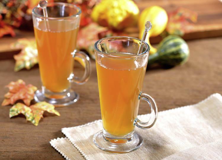 Té de manzana otoñal