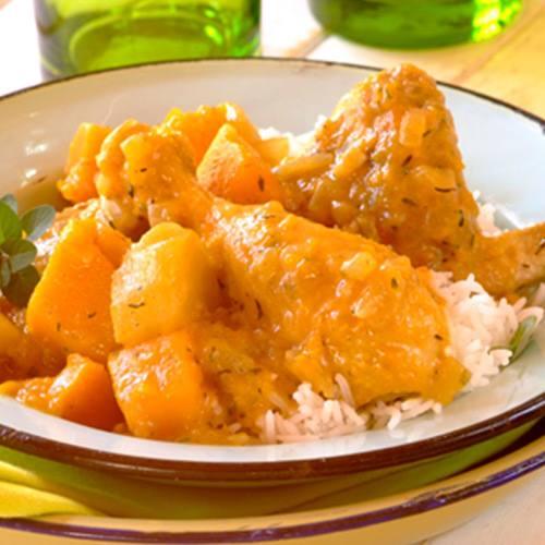 Chicken, Butternut and Sweet Potato Stew