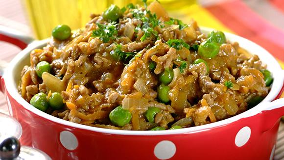 Classic Savoury Mince with Peas