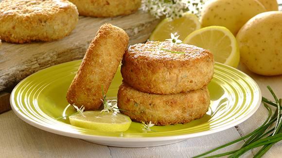 Tasty Tuna and Chive Fishcakes