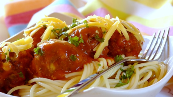 Oven-Baked Bacon and Cheese Meatballs