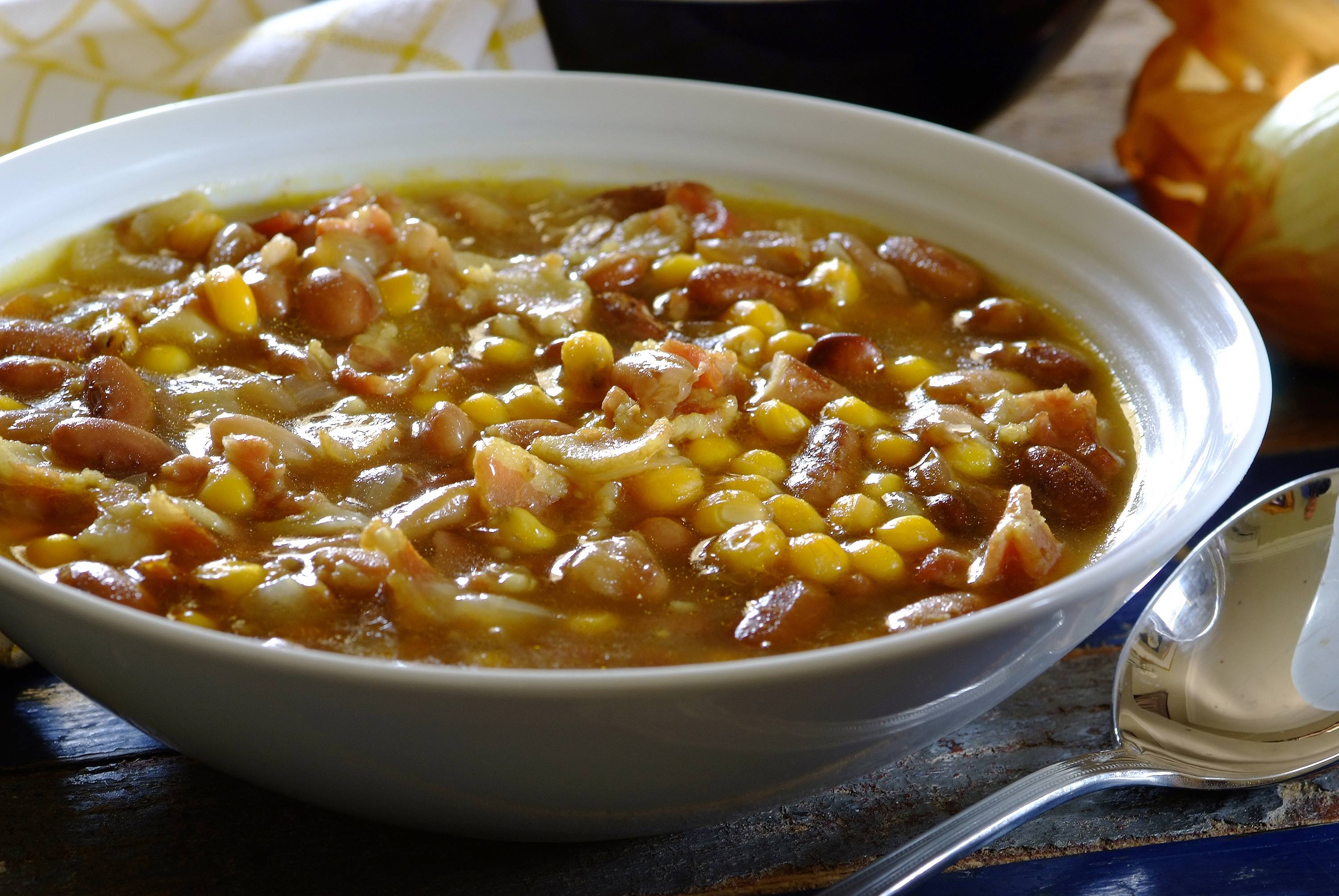 Mealie and Bean Soup