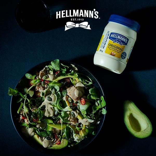 Creamy Avocado and Tuna Salad