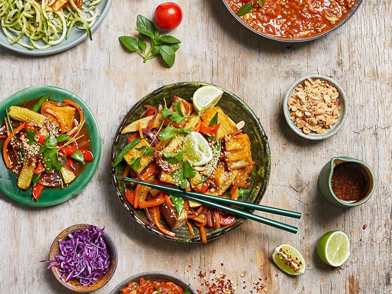Tofu and Vegetable Stir Fry