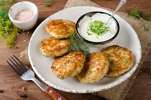 Croquetas de verduras de pescado