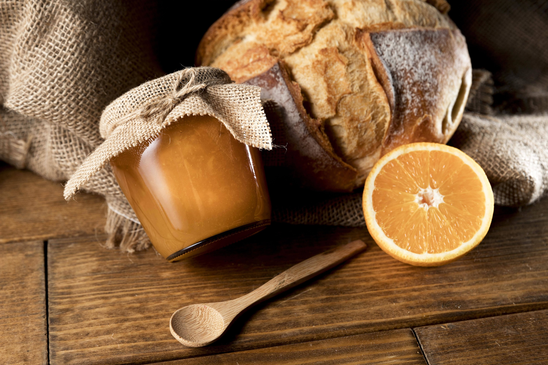 Mermelada de naranja casera, simple y deliciosa