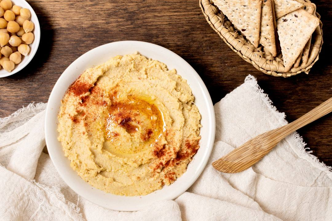 Hummus de garbanzo, receta fácil y deliciosa