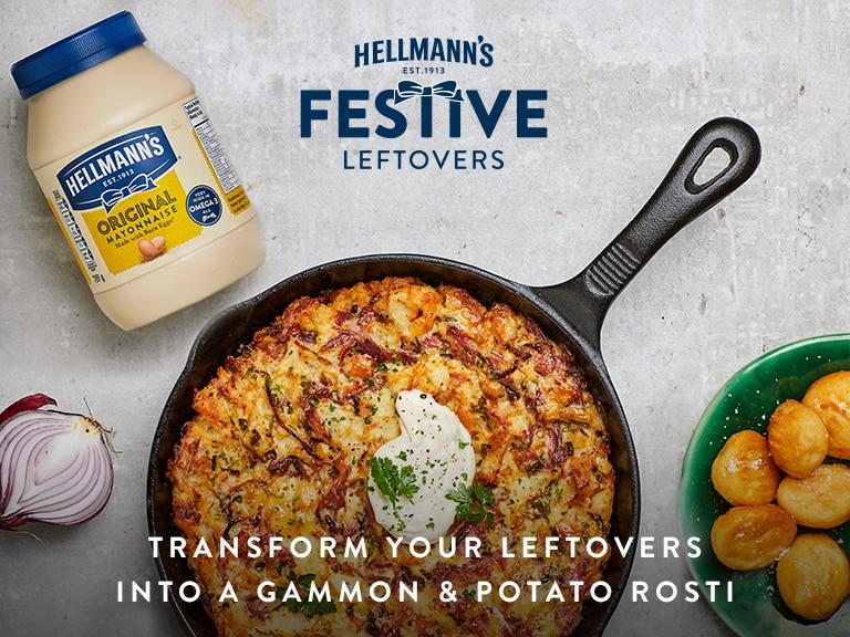 Gammon and Potato Rosti