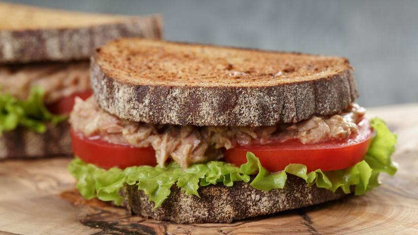 Sandwich de Atun Cremoso