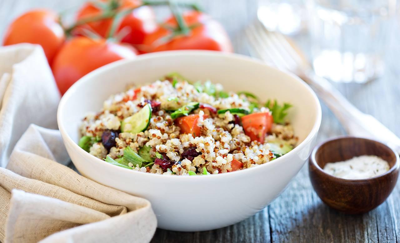 Ensalada de Quinoa y Eneldo