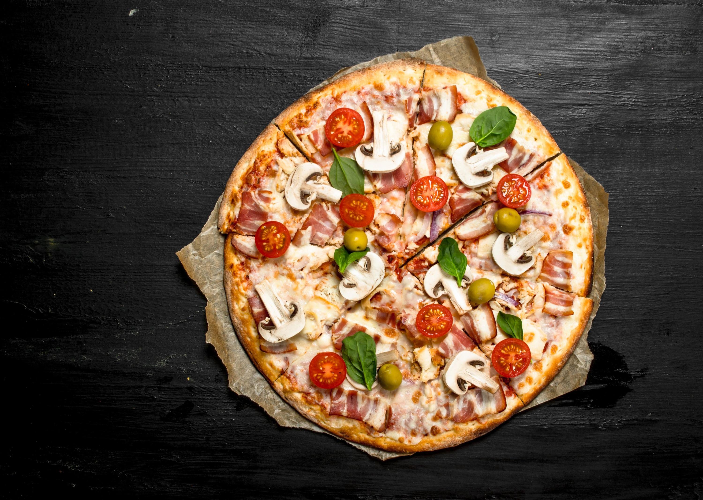 Pizza naturas