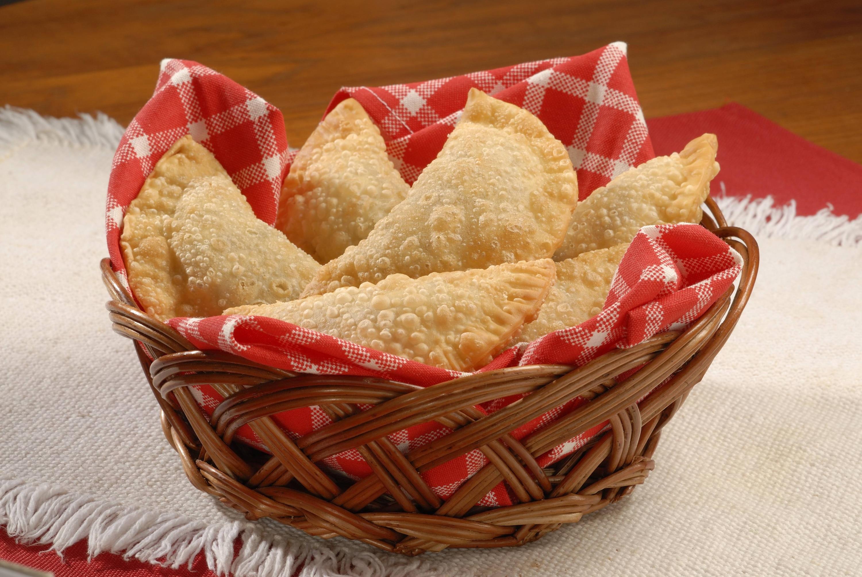 Empanaditas de espinaca y berenjena