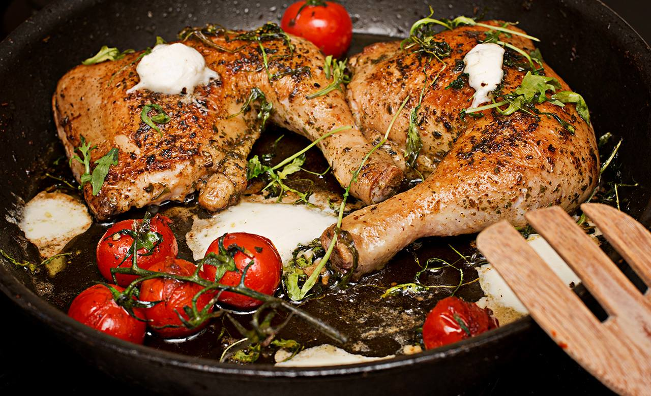 Pollo a Las Hierbas