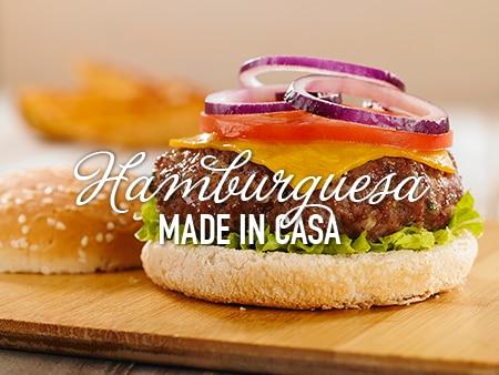 Hamburguesas Gourmet hechas en Casa