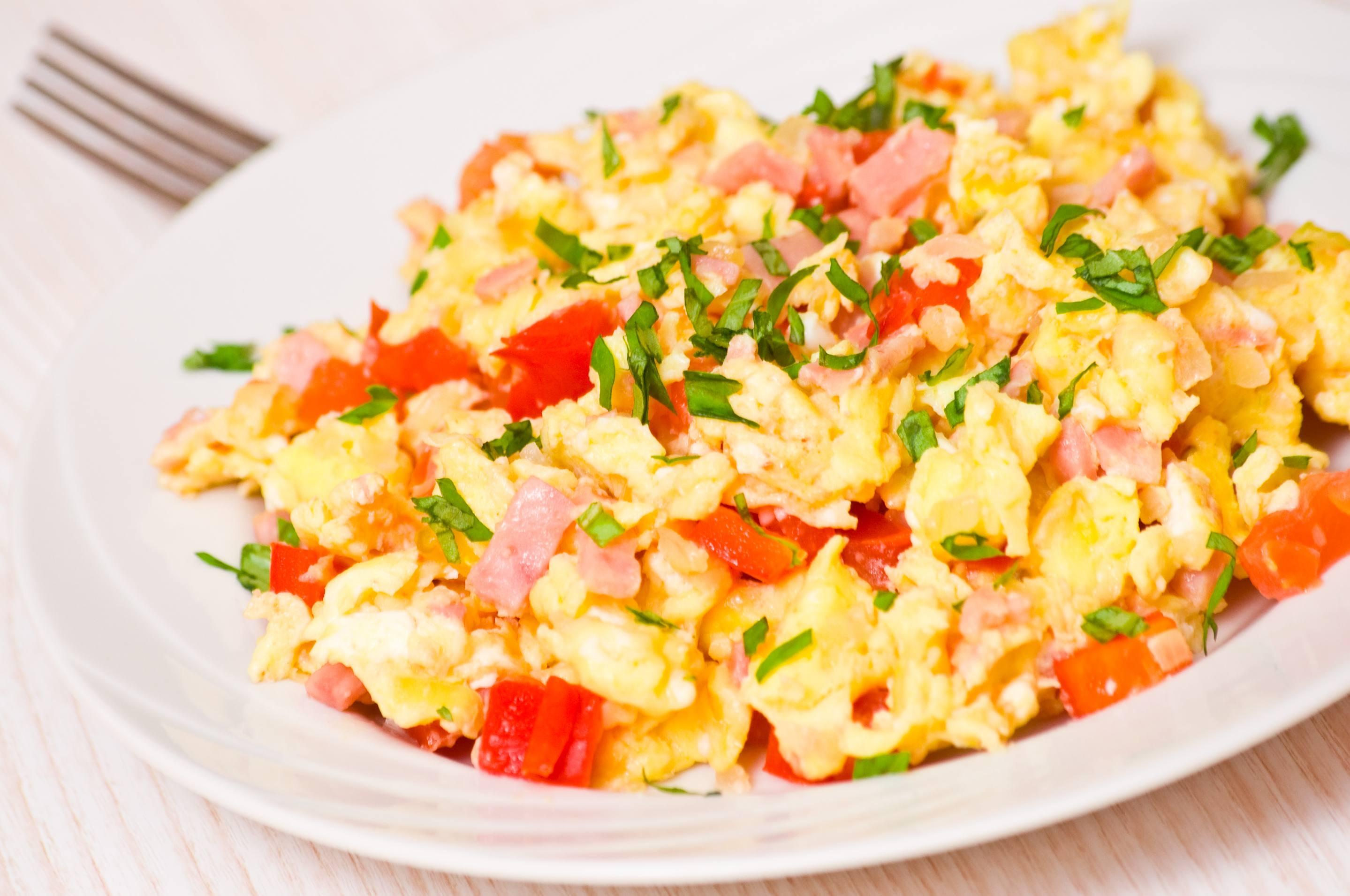 Torta de Huevo con Hierbas