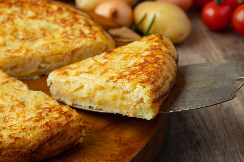 Tortilla de Papas y Pimentón Español