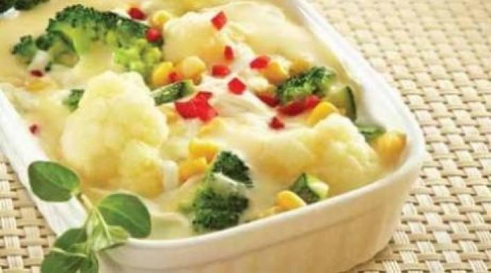 Vegetales al gratín
