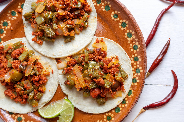 Tacos de Cerdo Adobado