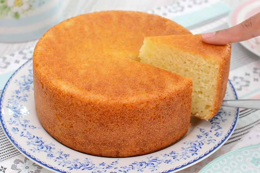 Torta 1234 esponjosa