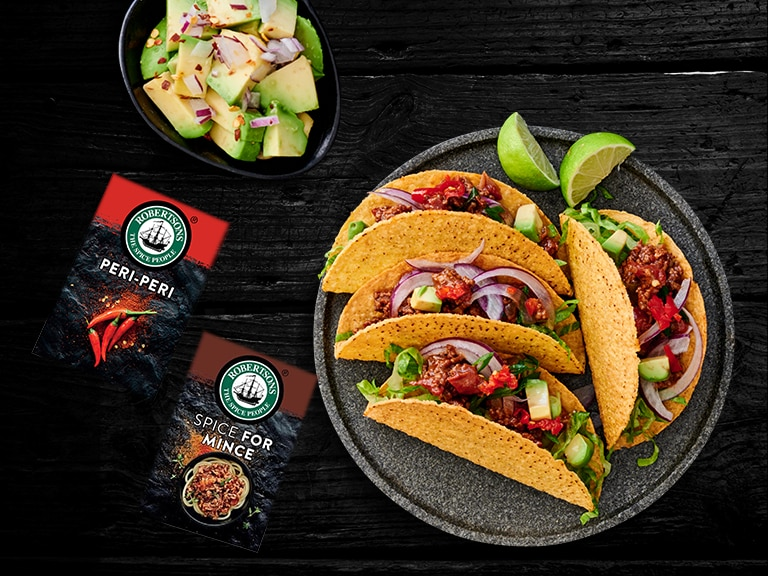 Mexican Mince Tacos