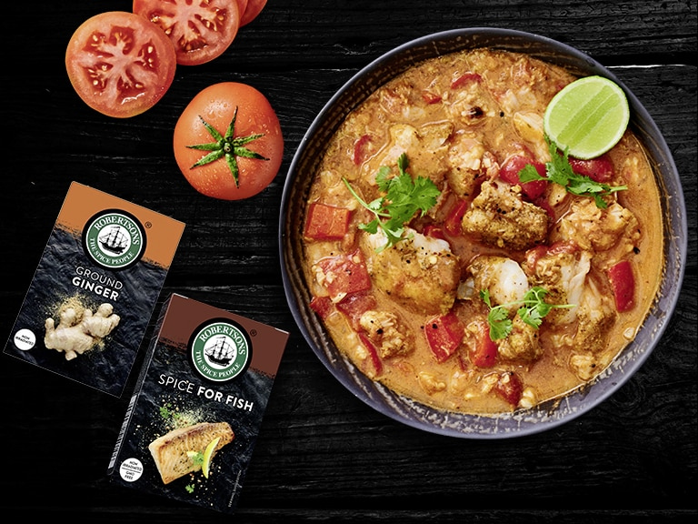 Spicy Coconut Fish Stew