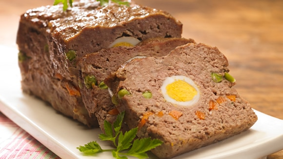 Pan de carne relleno