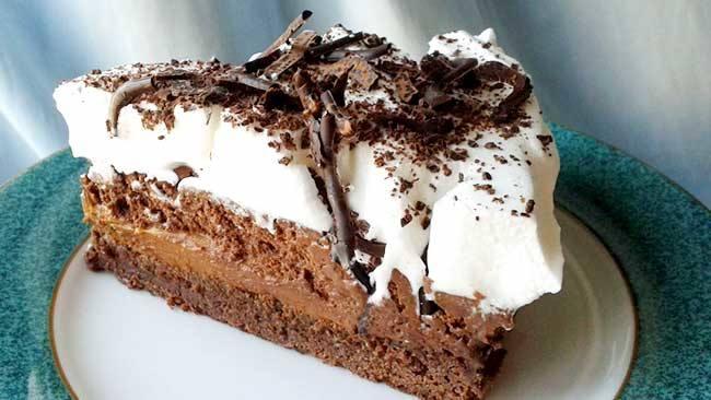 Torta bombón de chocolate