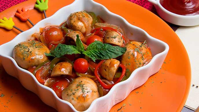 Encurtido con Salsa de tomate Fruco