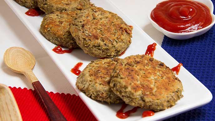 Torrejitas de Lenteja con Salsa de Tomate Fruco